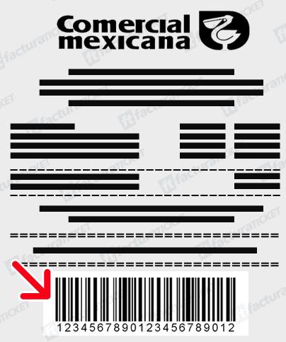 COMERCIAL MEXICANA LA COMER CITY FRESKO FACTURACION TICKET