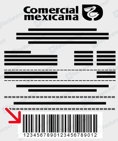 COMERCIAL MEXICANA FACTURACION TICKET