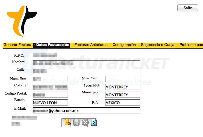taxi sitio 300 facturacion info