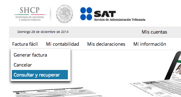 Recuperar XML SAT