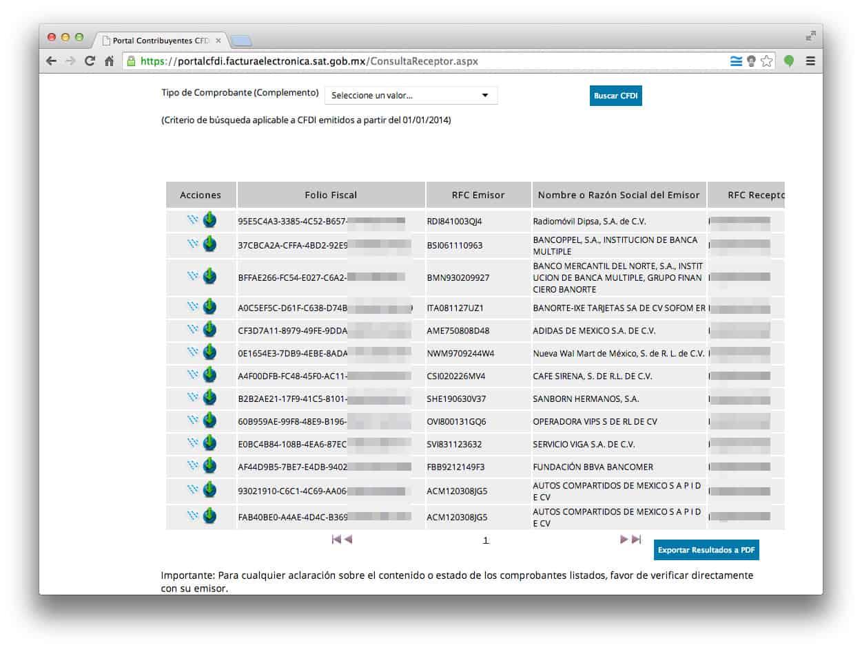 Descarga XML de Factura Electrónica en SAT - FacturaTicket