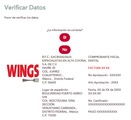 WINGS FACTURACION 2