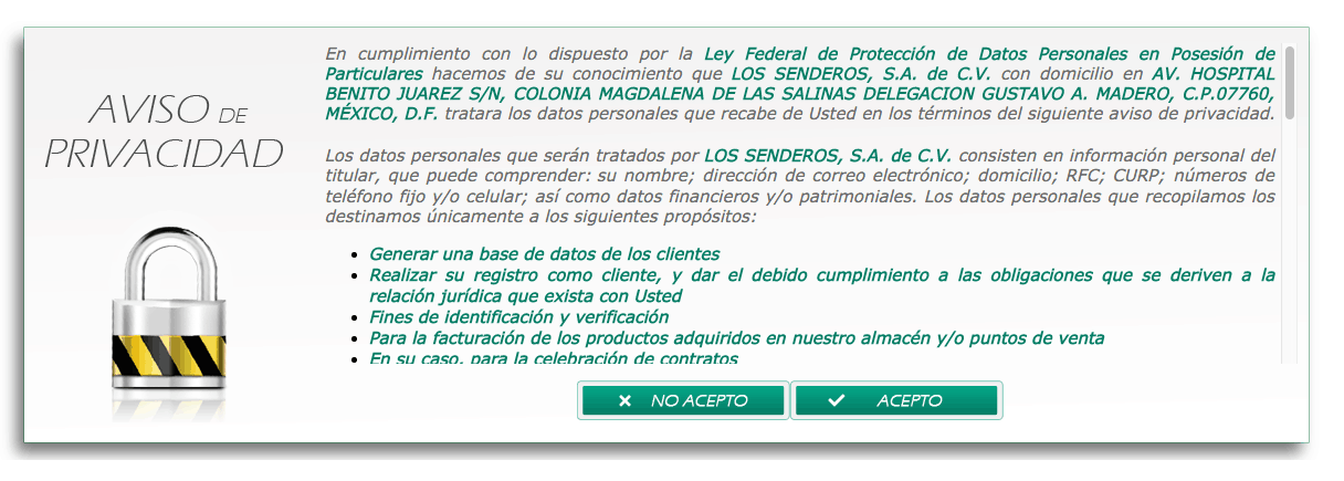 SENDEROS IMPRIMEFACTURA FACTURACION 1