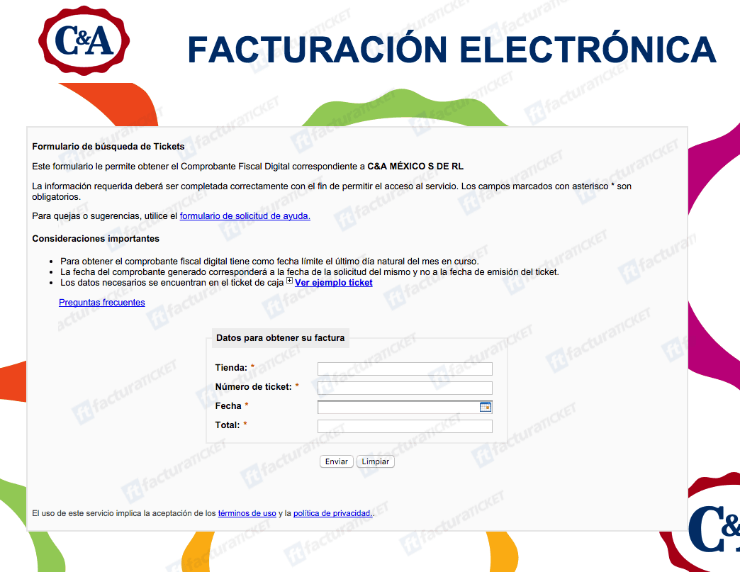 C&A Facturacion 0