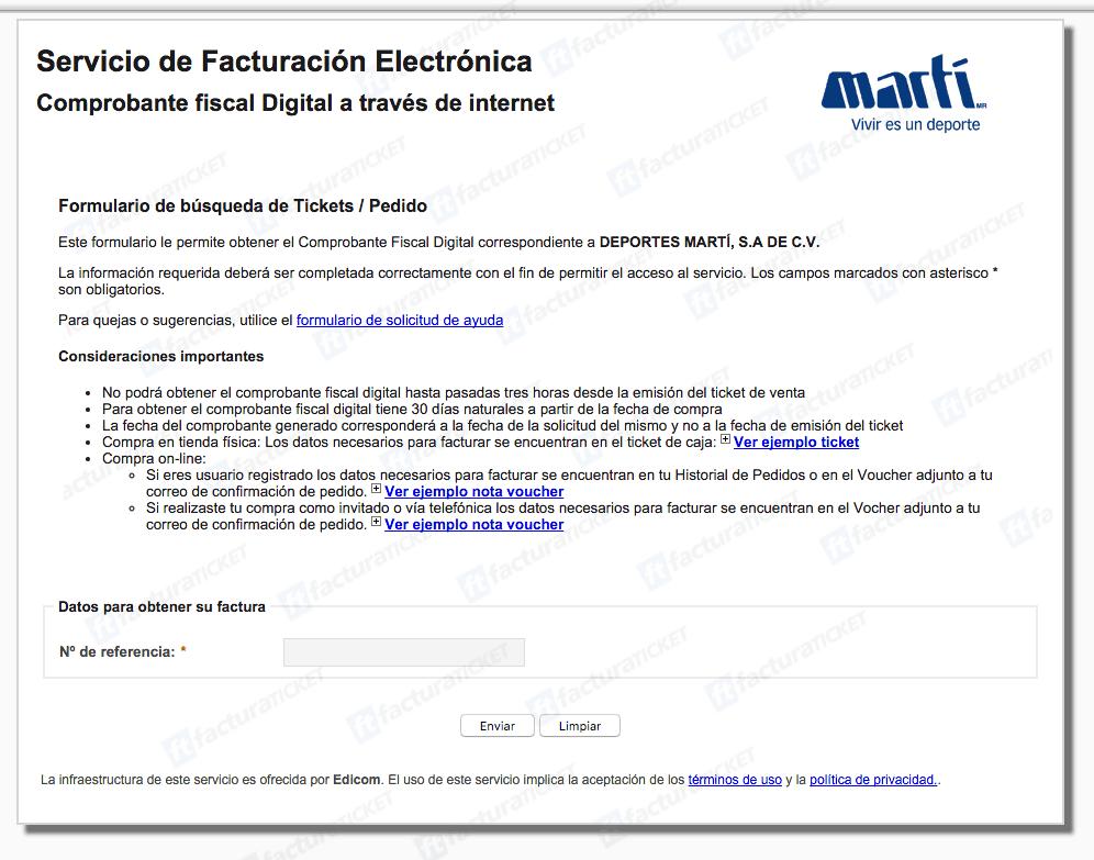 Marti Facturacion 0