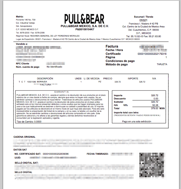 PULL AND BEAR FACTURACION 1