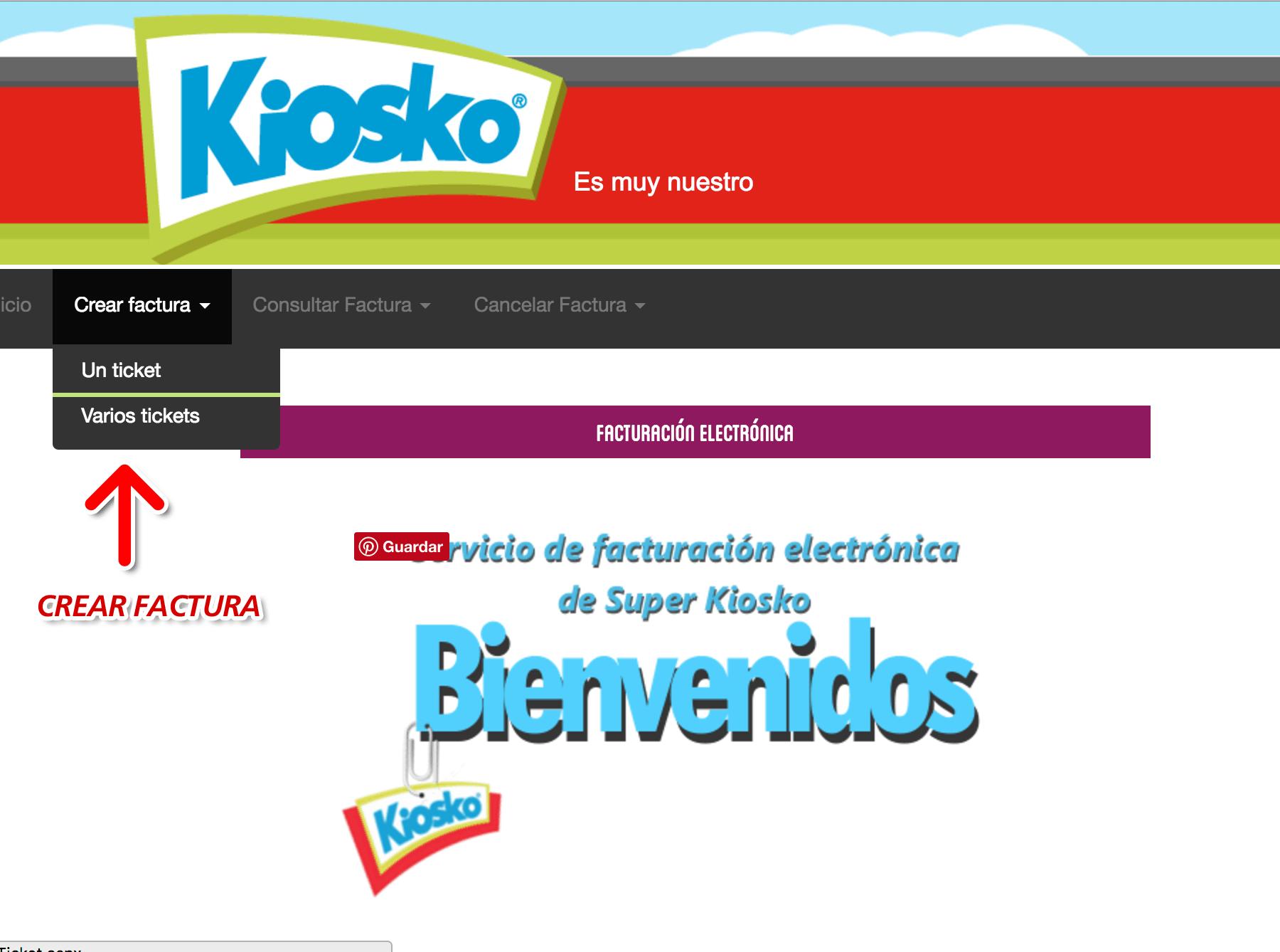 Kiosko Facturación